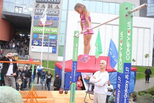 Семилетняя девочка установила мировой воркаут-рекорд